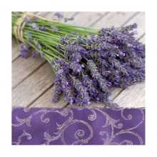 "Салфетка 33*33 см ""Lavender in the Country"", 1 штука (Paw Decor Collection)"