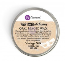 Восковая паста Opal Magic Wax, цвет Vintage Silk, 20 мл, дизайнер Finnabair (Prima Marketing)