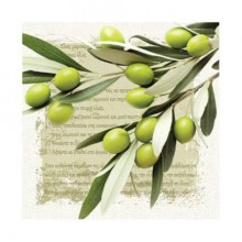 "Салфетка 33*33 см ""Greek Olives"", 1 штука (Paw Decor Collection)"