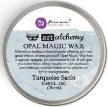 Восковая паста Opal Magic Wax, цвет Turquoise Satin, 20 мл, дизайнер Finnabair (Prima Marketing)