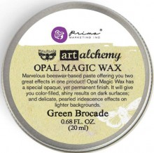 Восковая паста Opal Magic Wax, цвет Green Brocade, 20 мл, дизайнер Finnabair (Prima Marketing)