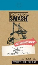 "Коллекция Smash: набор тэгов ""Punch-Out"" (K&Company)"